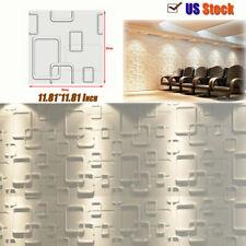 3D Brick Waterproof Wall Sticker Panel Sticker Wallpaper Decor 30*30cm 24Pcs