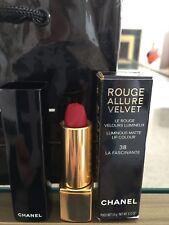 Chanel Rouge Allure Velvet Luminous Matte Lipstick 38 LA FASCINANTE NEW IN BOX