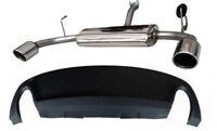 Giulietta 1.4 Scarico Sportivo Inox doppia uscita dx+sx 100 mm e DAM Alfa