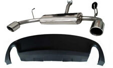 Giulietta 1.6 JTDM Scarico Sportivo Inox doppia uscita dx+sx 100 mm e DAM Alfa