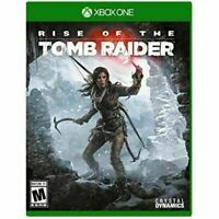 Rise of the Tomb Raider - Original Microsoft Xbox One Game
