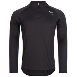 Puma half Zip Men's Long Sleeve Fitness Sport Training Running 903654-01 New