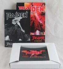 Raiden (Atari Jaguar, 1994) Complete in Box with Manual