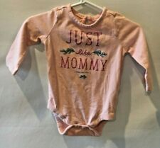 Baby Gap Girl One Piece Sz 3-6 months Just Like Mommy N1