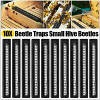 12pc Black Small Bee Hive Beetle Blaster BeeHive Beetle Trap Beekeeping Tools tw