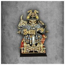 Warhammer Avatars of War Dwarf Overlord with Great Weapon Chaos Dwarves metal