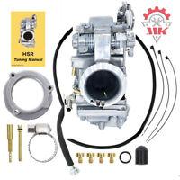 New Carburetor for Mikuni Harley HSR45 45mm Carb EVO Twin Cam Electra Glide