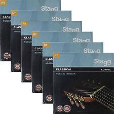 6x Gitarrensaiten Konzert-/Klassik-Gitarre Nylon Saiten 6er Satz Saiten Seiten