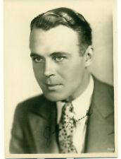 JOHN GARRICK Movie Star Orig  5x7 1930s Fan Photo Signed