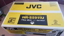 JVC VCR HR-S5911U Super VHS Hi-Fi Stereo With Remote and Manual - NEW