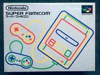Super Famicom Console System w/Box Japan SFC Nintendo