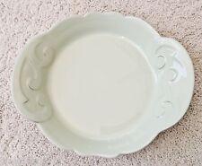 "NEW Casa Stone by CASAFINA Pale Green Arabesque Pasta Bowl 2"" x 9.5 x 8"""