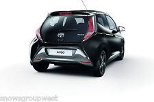 Genuine Toyota Aygo 2014 Model Onwards Rear Mudflaps Set New Accessory Original
