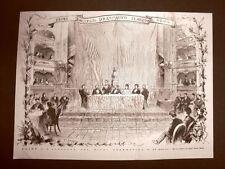 Udine 23 marzo 1876 Primo Congresso Drammatico Italiano L'apertura del Giurì