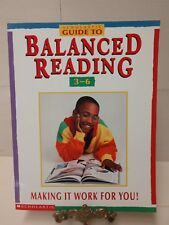 Balanced Reading Book Scholastic Guide  to Reading