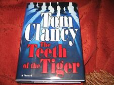 The Teeth of the Tiger by Tom Clancy (2003, Hardcover) SIGNED