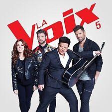 La Voix 5  incl: 25 chansons, 2CD (2017) BRAND NEW,  Musica Monette, Canada #450