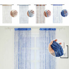 Hanging Beaded Curtain String Door Window Curtains Tassel Fly Screen Panel Home