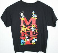 Vtg Mickey Unlimited Mickey Mouse Disney Minnie Donald Goofy Daisy T Shirt Sz XL