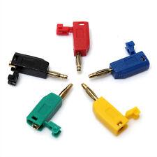 5 Colors 2mm Banana Plug Connector Jack For Speaker Amplifier Test Probes Termin