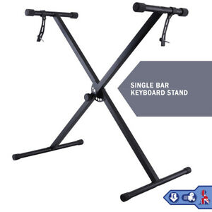 Electronic Piano Single X Stand Music Keyboard Standard Rack Adjustables Height