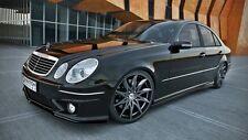 Seitenschweller Ansatz GLOSS Set Mercedes E Klasse W211 AMG Bj. 02-09 Leisten