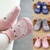 Baby Kids Toddler Anti Slip Shoes Cartoon Slipper Floor Boots Socks F4N4