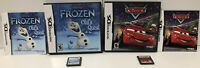 DISNEY two Game Lot : Frozen: Olaf's Quest and Cars ! Nintendo DS ! CIB ! 🔥
