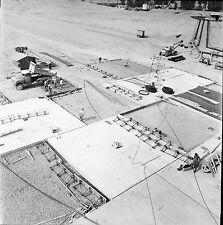 RHINAU c. 1960 - Chantier de la Centrale  Bas Rhin - Négatif 6 x 6 - N6 GE19