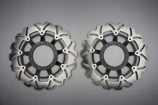 Paire disques frein avant wave 296mm pour Honda CB F Hornet 919 900 2002-2006