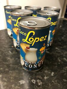 Coco lopez cream Of Coconut tins 425g pina colada variation 6,12,18,24 cocktail