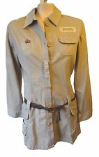 LUXIRIE by LRG tunic beige dress M Medium jacket skirt Lifted research group mod