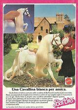 X2425 Barbie - Una Cavallina bianca per amica - Pubblicità 1988 - Advertising