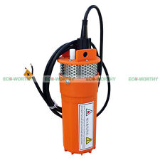 24V Submersible Deep Well Water Pump Solar Battery Alternative Pond Watering
