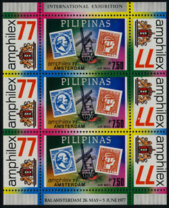 Philippines C109 MNH Stamp on Stamp, AMPHILEX