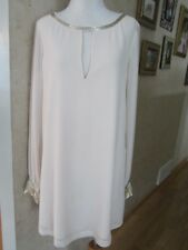 Guess by Marciano Beige Long Sleeve Tunic Top Dress Size M