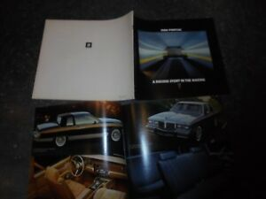 1 Ancien Catalogue Gamme PONTIAC