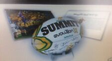 WALLABIES 2007 LIMITED ED SIGNED CERAMIC SUMMIT MATCH BALL