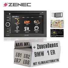 Zenec KFZ Autoradio für BMW 1er E81 E82 E87 E88 Naviceiver mit Bluetooth / USB