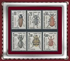 1982 FRANCE TAXE N°103/108** Insectes COLEOPTERES TTB, MNH