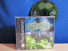 PlayStation PS1 Syphon Filter Video Game