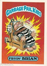 1986 TOPPS GARBAGE PAIL KIDS 1ST SERIES GIANT #4 FRYIN BRIAN NM CONDITION GPK