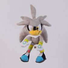 Sonic Silver the Hedgehog Series 11 inch Plush Soft Toy Stuffed Animal Doll