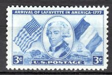 USA - 1952 175 years arrival of Lafayette - Mi. 629 MNH