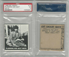 1966 Topps, Get Smart, #13 Planning Her Next Move, PSA 5 EX