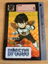Carte Dragon Ball Z DBZ Carddass Hondan Part 6 #217 Prisme 1990 MADE IN JAPAN