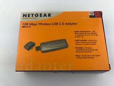 Netgear WG111T 108 Mbps 802.11g Wireless USB 2.0 Internet Adaptor