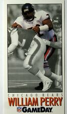 1992 GameDay Football Card #283 William Perry