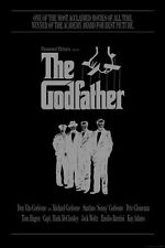 THE GODFATHER MOVIE POSTER - The Corleones - NEW 24x36