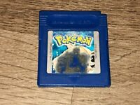 Pokemon Blue Version Nintendo Game Boy Battery Saves Cleaned & Tested Authentic